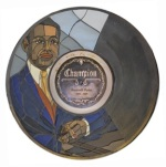 Roosevelt Sykes Gennett Walk of Fame Medallion